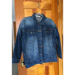 Cents of Style long denim jacket, S